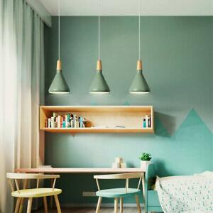 Green Pendant Light Modern Ceiling Lamp Home Lights Kitchen Chandelier Lighting
