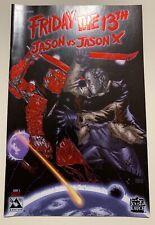 Friday The 13th Jason vs Jason X #1, Blood Red Foil Edition NM Limit 750 Avatar