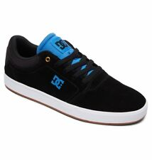 Scarpe Uomo Skate DC Shoes Crisis Nero Black Blu Schuhe Chaussures Sneakers