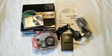 Fujifilm FinePix F50 fd Camera with Underwater Housing,Lanyard,Leads,Instruction