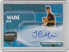 2005 TOPPS JOHN MAINE CERTIFIED AUTOGRAPH ISSUE INSERT