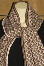 JOE BOXER - Brown & Pink - Luxurious - Soft Knit Winter Neck SCARF 9 in x 70 in