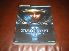GUIDE OFFICIEL PC STARCRAFT II WINGS OF LIBERTY EN FRANCAIS - BRADYGAMES 2010