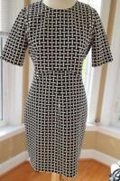 Diane von Furstenberg RETRO PRINT DRESS SIZE 10  (Dr1000