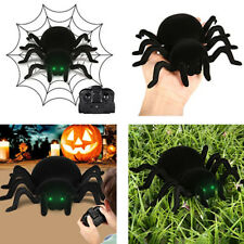 Funny Trick toys Black RC Wall Climbing Spider Remote Control Car Party Gags