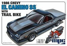 MPC 888 1986 El Camino SS with Trail Dirt Bike plastic model kit 1/25