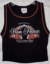 NEW~WOMENS~IRON HORSE SALOON BIKETOBERFEST TANK~02~SMALL