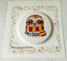 Pocket Mirror Sloth Bag Makeup Purse Travel Birthday Party Filler Wedding