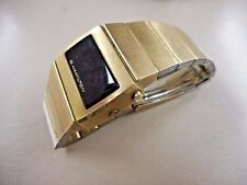 Vintage Hamilton LED Digital Wrist Watch. Works