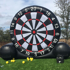3M High Giant Game Soccer Inflatable Football Dart Board With 220V Air