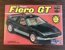 Pontiac Fiero GT 1988 1:25 Sealed 1987 USA Made!! 2n 1! 86 87 88 MPC Vintage Kit