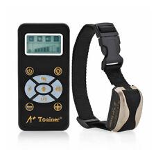 Perro Trainer Collar Adiestramiento de Macotas Descarga Eléctrica Antiladridos -