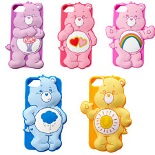 3D Cartoon Rainbow Bear Soft Silicone Phone Case Cover For iPhone X 6 7 8 Plus