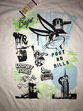 Bugs Bunny TAZ Looney Tunes 90s T Shirt XL New NWT Deadstock Vtg Space Jam