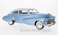 #284 - BoS-Models Cadillac Series 62 Club Coupe - hellblau/grau - 1946 - 1:18
