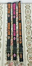 Harley-Davidson Lanyards Detachable Keychain ID Badge Holder 3 Colors Available