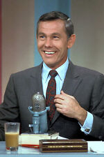 Johnny Carson Laughing Classic Color 11x17 Mini Poster