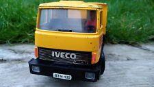 '83 BRITAINS MAGIRUS DEUTZ FIAT IVECO TIPPER TRUCK LORRY YELLOW FARM AUTOWAY TOY