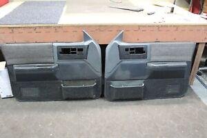 86-94 CHEVROLET S10 BLAZER GMC S15 SONOMA DOOR PANELS, DRIVER PASSENGER SET