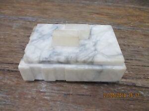 MARBLE CARD BOX OR CIGARETTE BOX