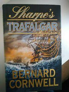 Sharpe's Trafalgar by Bernard Cornwell (Hardback, 2000) 1st edition