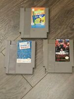 Lot of 3 Nintendo NES Games where's Waldo Sesame Street Punch-Out. See desc.