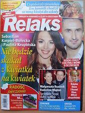RELAKS 26/2015 Adele,Lady Diana,Hasnat Khan,Kalina Jedrusik,Stanislaw Dygat