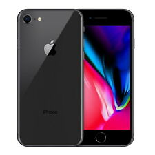 Apple iPhone 8 64GB Space Grey Smartphone Sim Free GSM Touch Screen IOS BH 84%