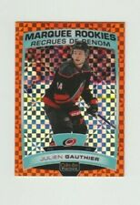 Julien Gauthier RC 19/20 OPC O Pee Chee Platinum Orange Checkers  2019/20 #06/25