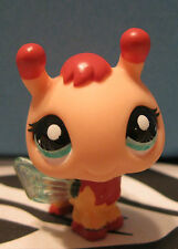 Littlest Pet Shop #1798 Peach & Red Bumble Bee