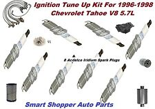 Ignition Tune Up For 96-98 Chevrolet Tahoe V8 5.7L Distributor Cap Rotor Filter