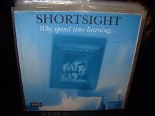 "SHORTSIGHT why spend time learning ( rock ) 7""/45 picture sleeve"