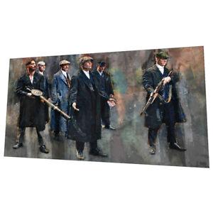 "The Birmingham Peaky Blinders ""Bring It On"" Wall Art - Graphic Art Poster"