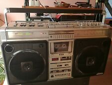 SHARP GF 9696Z Boombox Ghettoblaster Top Running and Rare