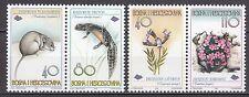 BOSNIA&HERZEGOVINA 1997** MNH SC # 278 - 279  Flora and Fauna
