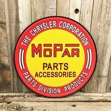 MOPAR Parts Blechschild 30,5cm US Car DODGE CHRYSLER PLYMOUTH 300C Charger Hemi