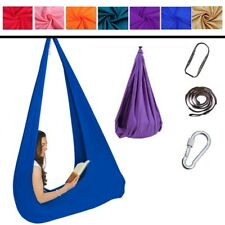 1X Kids Therapy Swing Autism ADHD Aspergers Sensory Cuddle Child Hanging Hammock
