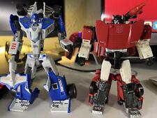 Transformers Lot: Classics Mirage & Siege Sideswipe, Plus Extras