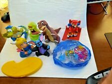 rubber toys lot of 8