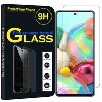 "Vitre De Protection Écran Film Verre Trempe Samsung Galaxy Note10 Lite 6.7"""