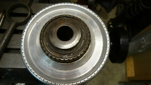 Jacobs rubber flex collet chuck on 2 1/4 X 8 mount plate
