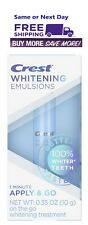 Crest Whitening Emulsions Leave-On Teeth Whitening Treatment 0.35oz Exp 06/22