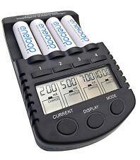 Youshiko yc4000 (come la Crosse BC-1000) Smart Caricabatterie AA AAA + USB +12 V DC