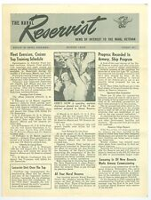 Feb 1947 12th Naval District, San Francisco, Naval Reservist Newsletter, 4 Pages
