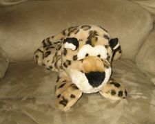 "Cute 16"" Bean Plush Cheetah Wild Animal Buddy Pal"
