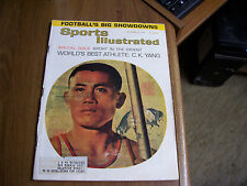 Sports Illustrated 1963 C.K. Yang Cover/ Sport In The Orient