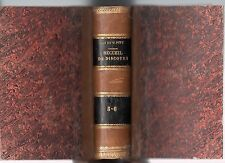 CHARLES JAMES FOX & WILLIAM PITT DISCOURS AU PARLEMENT D'ANGLETERRE 2 TOMES 1819