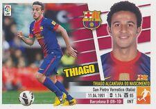 N°11B THIAGO ALCANTARA # ESPANA FC.BARCELONA STICKER PANINI ESTE LIGA 2014