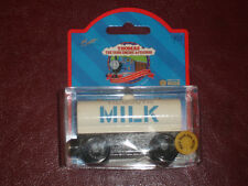 RETIRED TIDMOUTH MILK nib THOMAS TANK ENGINE TRAIN for WOODEN RARE NEW 1999 WOOD