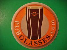 Beer Coaster Drink Pub Bar Mat <> PUB GLASSES = PubGlasses.com Online Gift Store